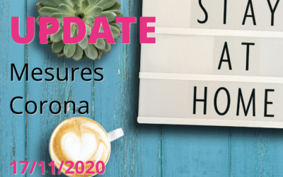 Update Mesures Corona novembre 2020