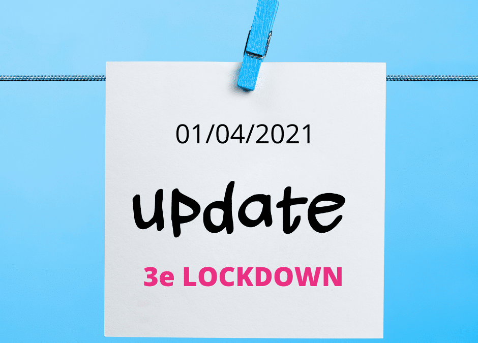 3e lockdown : droit passerelle, TVA, précompte, télétravail, etc…