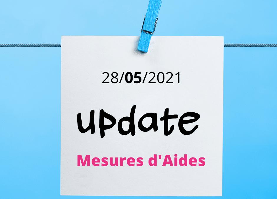 Nouvelles mesures et prolongation mai 2021